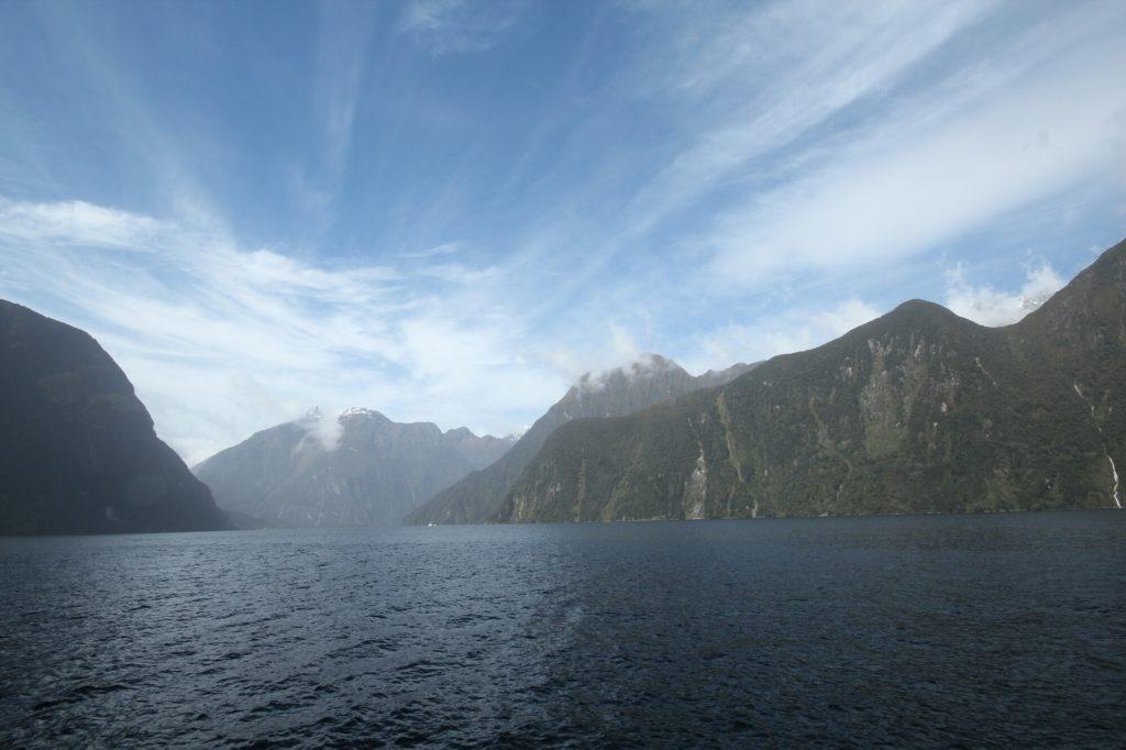 Milford Sound sous le soleil