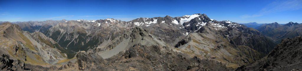 Vue panoramique au sommet