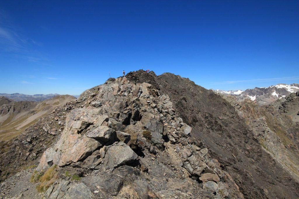 La crête avant le sommet