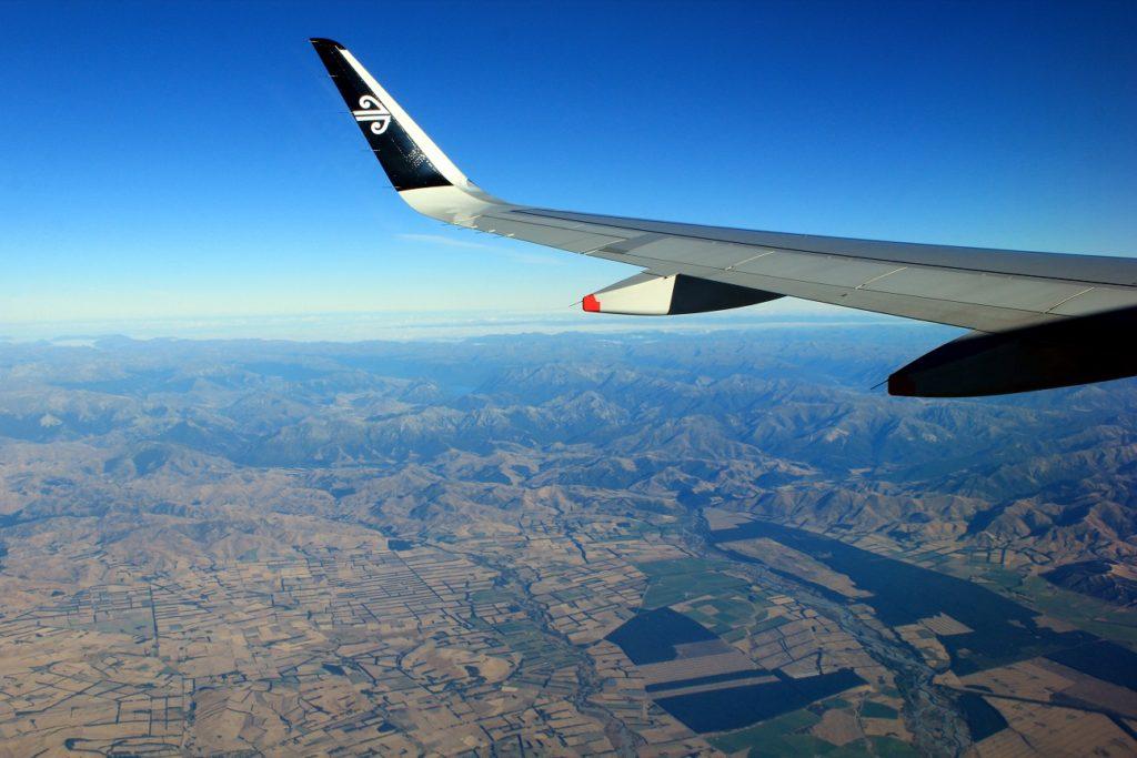 La plaine du Canterbury, les Alpes du Sud et la West Coast, tout ça en un coup d'oeil