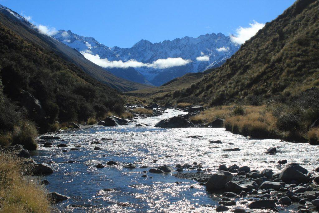 Cameron River et Arrowsmith Range