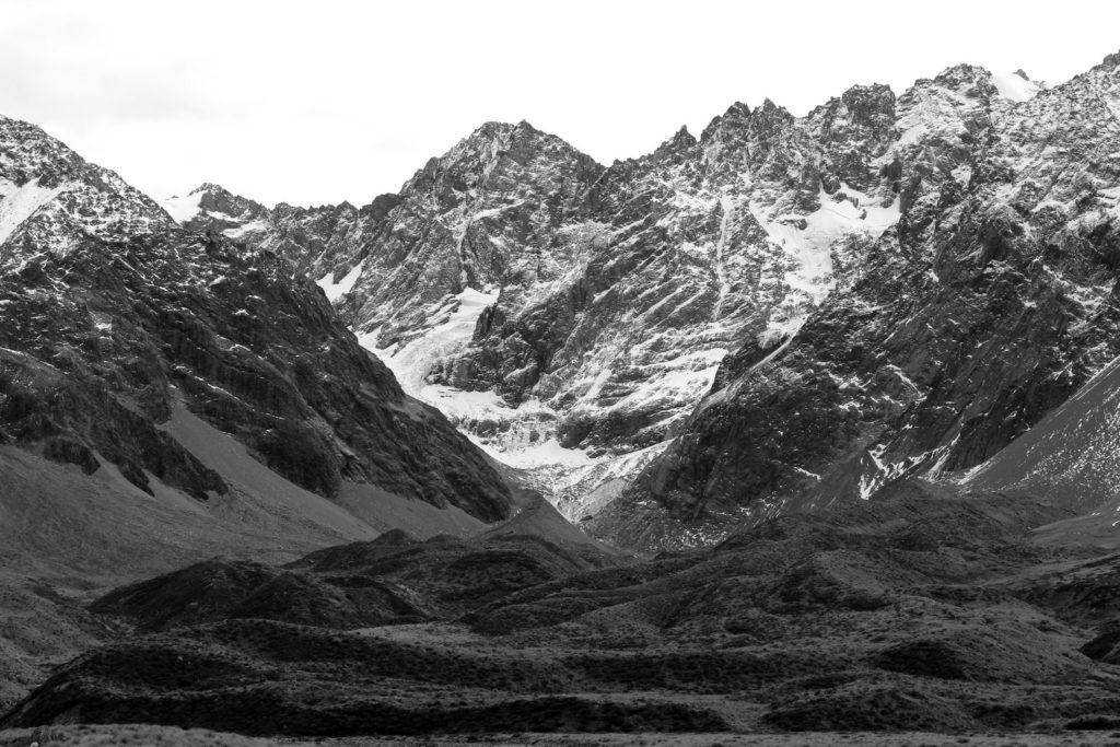 Cameron glacier, de loin