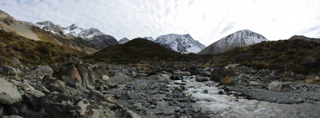 Panorama depuis la Cameron River