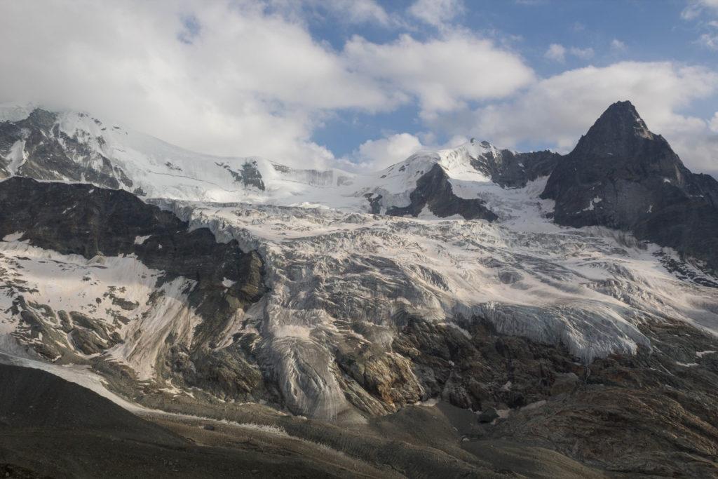 Le glacier de Moming
